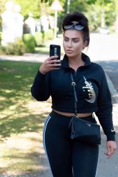 Lauren Goodger - Out in North London 06/15/2020