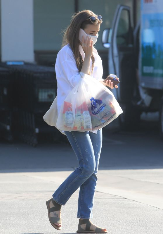 Lily Collins - Shopping in LA 06/27/2020