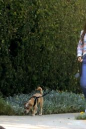 Lily Collins - Walking Her Dog in Beverly Hills 06/06/2020
