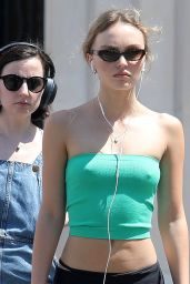 Lily-Rose Depp Outfit 06/25/2020