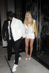 Lindsey Vonn Night Out Style - Catch in West Hollywood 06/13/2020
