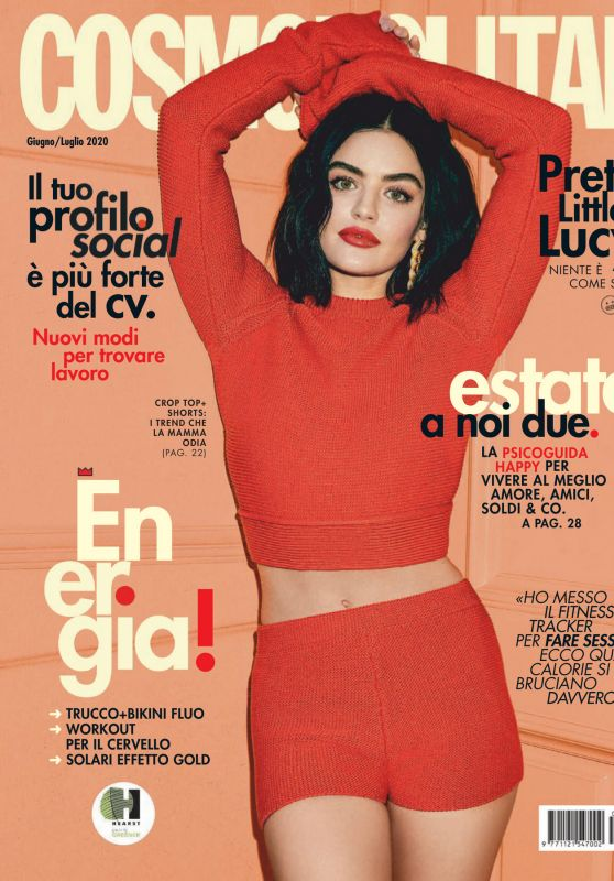 Lucy Hale – Cosmopolitan Magazine Italy June /July 2000 Issue