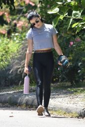 Lucy Hale in Spandex - Studio City 06/12/2020