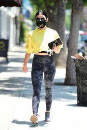 Lucy Hale in Tights - Los Angeles 06/23/2020
