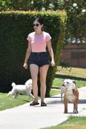 Lucy Hale - Out in Studio City 06/27/2020