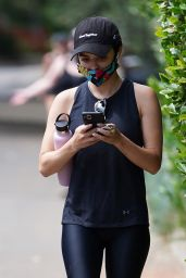 Lucy Hale Outfit - Fryman Canyon in Studio City 06/29/2020