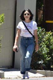 Lucy Hale Street Outfit - Studio City 06/09/2020
