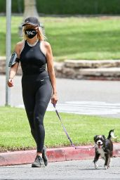 Malin Akerman - Walking Her Dog in Los Feliz 05/14/2020