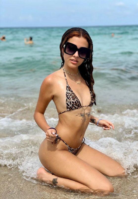 Malu Trevejo in Bikini 06/02/2020