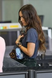 Megan Fox - Arriving at LAX Airport in Los Angeles 06/29/2020