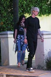 Megan Fox - Outside Machine Gun Kelly´s Mansion in LA 06/17/2020