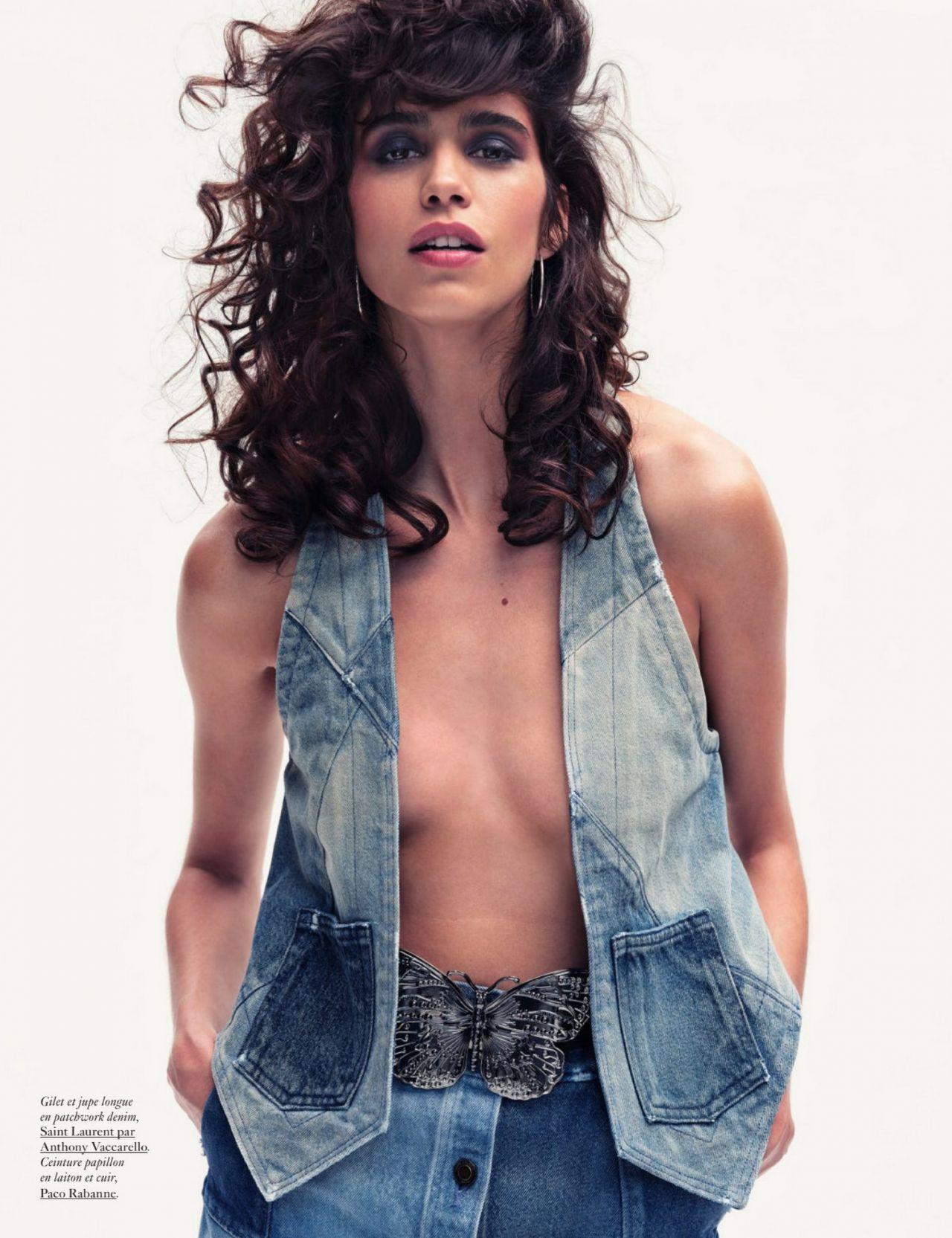 Vogue magazine July 2020 photoshoot Mica Arganaraz