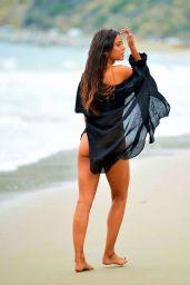 Michelle Hayden Hot in Bikini - Beach in Malibu 06/22/2020