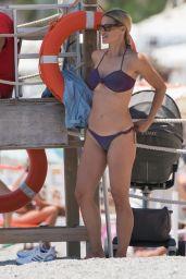 Michelle Hunziker in a Bikini 06/28/2020