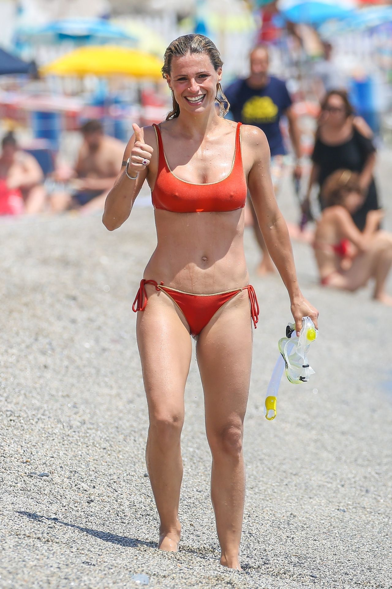 Michelle Hunziker Bikini