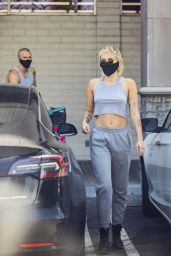 Miley Cyrus - Shopping at CVS in Calabasas 06/12/2020