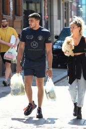 Molly-Mae Hague With Boyfriend Tommy Fury Out in Manchester 06/03/2020