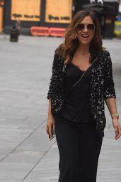 Myleene Klass -Arriving at Global Radio Studios in London 06/19/2020