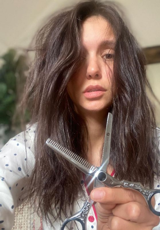 Nina Dobrev - Instagram Live Stream 05/30/2020
