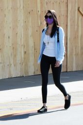 Nina Dobrev Street Style - LA 06/27/2020