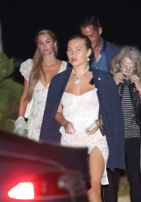 Paris Hilton Night Out Style - Nobu in Malibu 06/28/2020