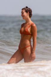 Rachel Cook in a Bikini - Beach in Tulum 06/28/2020