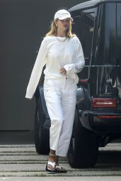 Rosie Huntington-Whiteley in Casual Outfit - Beverly Hills 06/04/2020