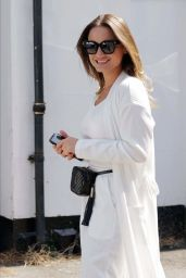 Sam Faiers in an All-White Outfit 06/22/2020