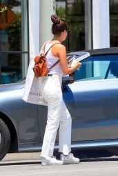 Sara Sampaio - Shopping in West Hollywood 06/12/2020