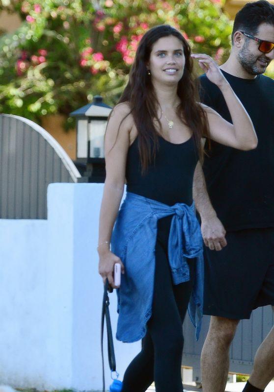 Sara Sampaio - Walks Her Dog in LA 06/07/2020
