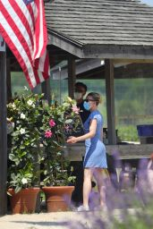 Scarlett Johansson - Shopping in the Hamptons 06/25/2020