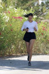 Shanina Shaik - Jogging in Ibiza 06/02/2020