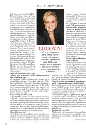Sharon Stone - Grazia Magazine Italy 05/28/2020 Issue