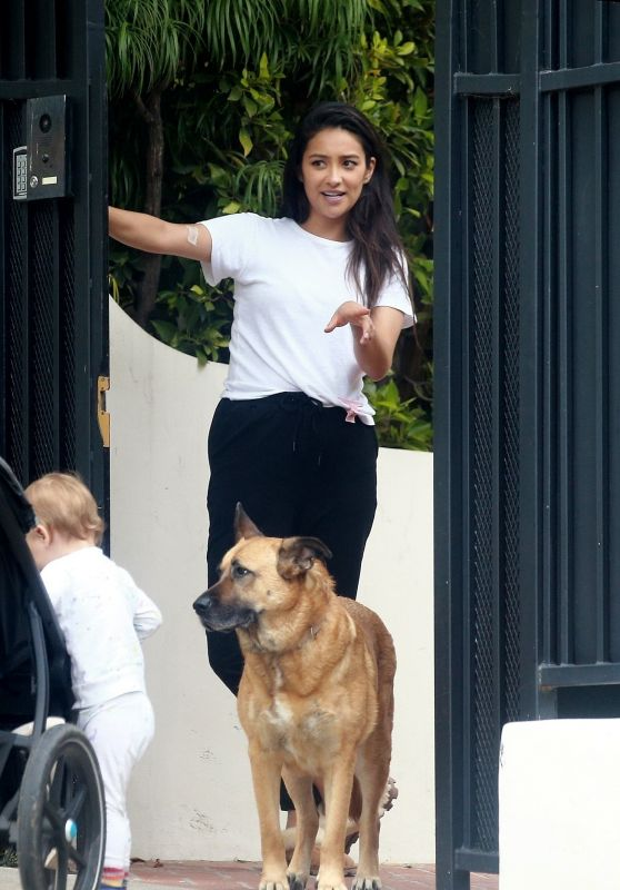 Shay Mitchell - Outside Her House in LA 05/29/2020