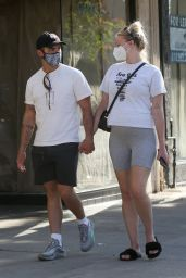 Sophie Turner and Joe Jonas - Outside Salt & Straw in Studio City 06/21/2020
