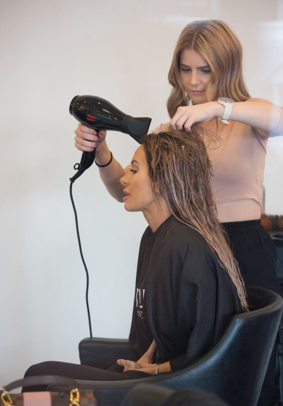 Stacey Hampton - Getting a Colour and Blow Dry in Adelaide 06/17/2020