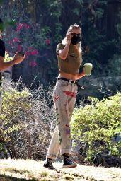 Stella Maxwell - Out in Los Feliz 06/22/2020