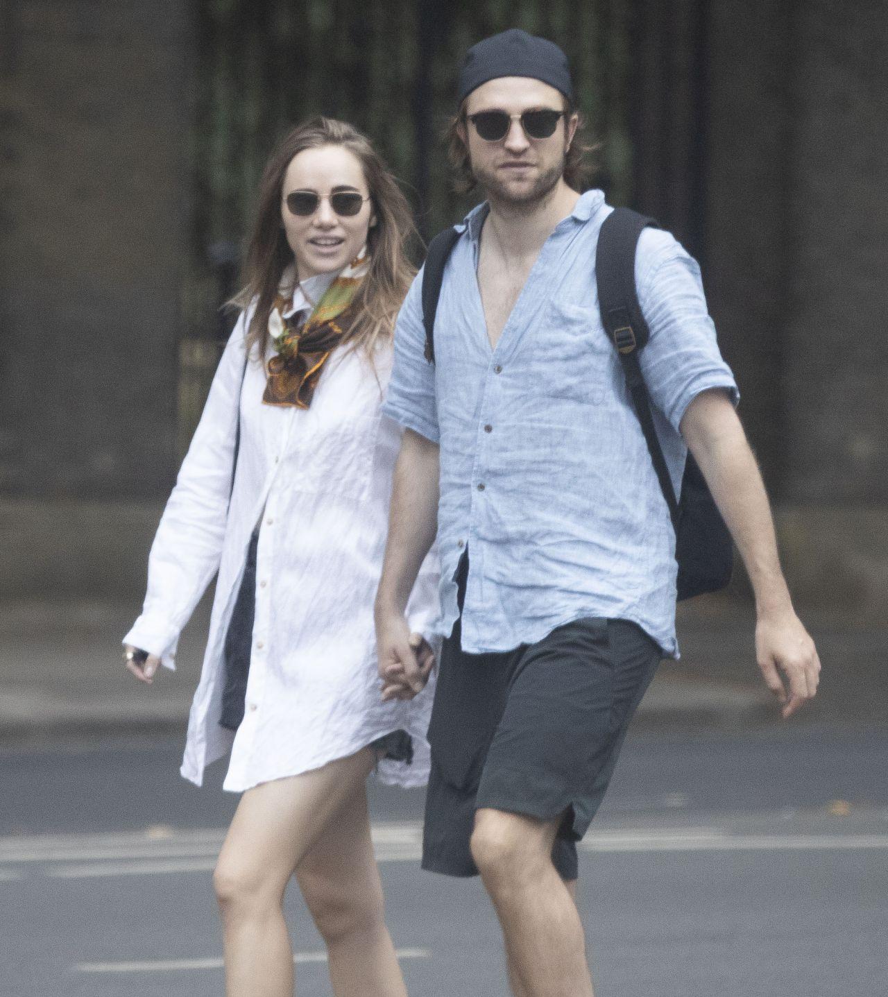 Suki Waterhouse and Robert Pattinson - Out in London 06/17 ...