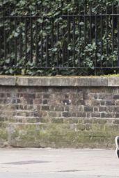 Suki Waterhouse - Jogging in London 06/11/2020