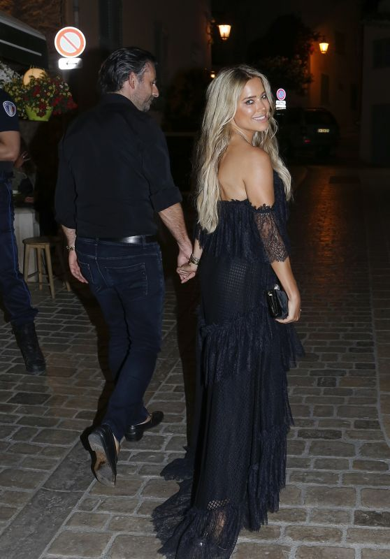 Sylvie Meis Night Out Style - Saint Tropez 06/21/2020