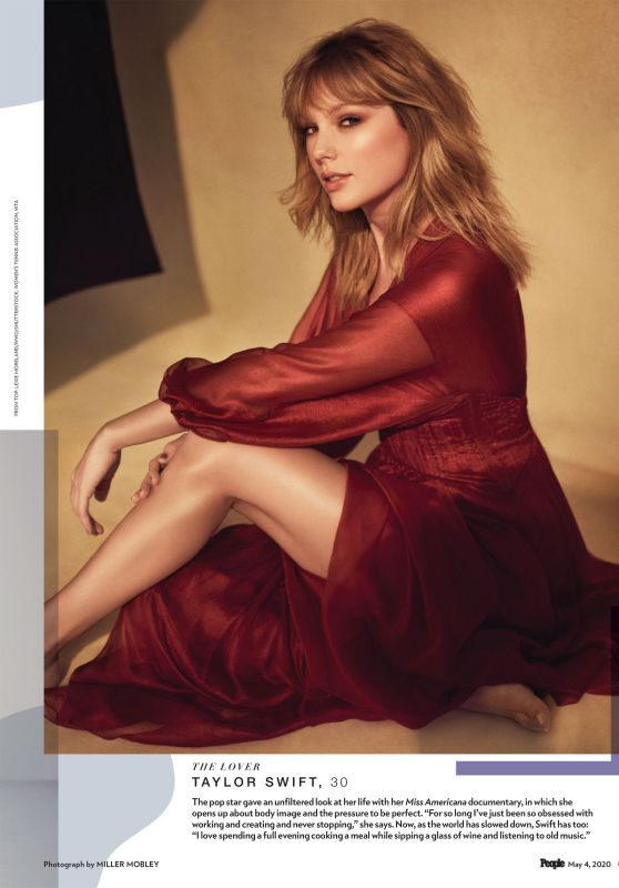 Taylor Swift - People Magazine The Beautiful Issue May 2020