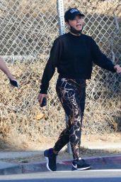 Teddi Mellencamp in Spandex - Hiking in Los Angeles 06/13/2020