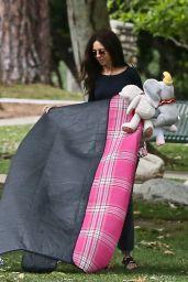 Terri Seymour at a Oark in Beverly Hills 06/05/2020
