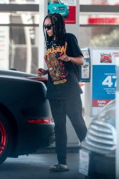 Tinashev  – Pumping Gas in Beverly Hills 06/18/2020