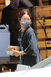 Vanessa Hudgens in Casual Outfit - Los Angeles 06/13/2020