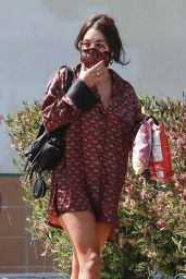 Vanessa Hudgens - Stops By a Coffee Shop in LA 06/19/2020
