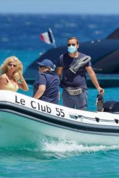Victoria Silvstedt - Club 55 in St Tropez 06/06/2020