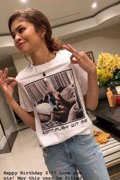 Zendaya Coleman - Social Media Photos 06/23/2020
