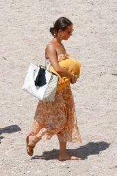 Alicia Vikander in a Bikini at a Beach in Ibiza 07/15/2020