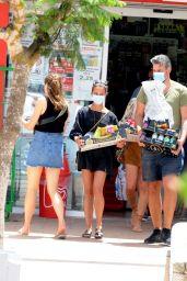 Alicia Vikander - Leaves Lunch in Ibiza 07/12/2020